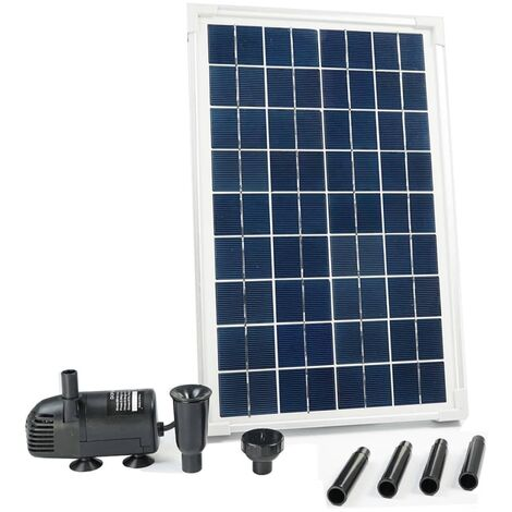 Ubbink SolarMax 600 Set with Solar Panel and Pump 1351181