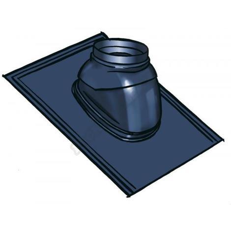 Ubbink - Solin 35° à 55° ardoise avec rotule - Noire