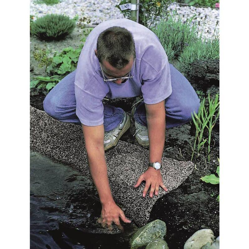 Ubbink Stone Pond Liner Classic 5x0.4 M Grey 1331001