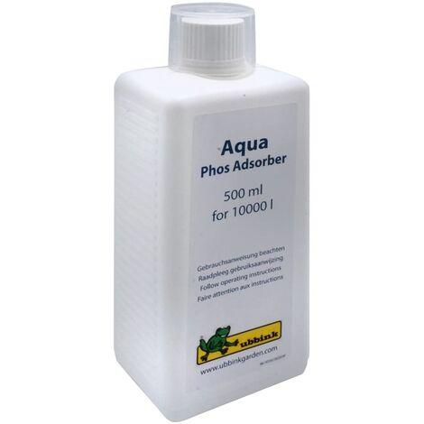 Ubbink Tratamiento de agua para estanques Aqua Phos Adsorber 500 ml