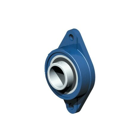 UCFLE - Flanged Housing Unit - Two Hole - Metric