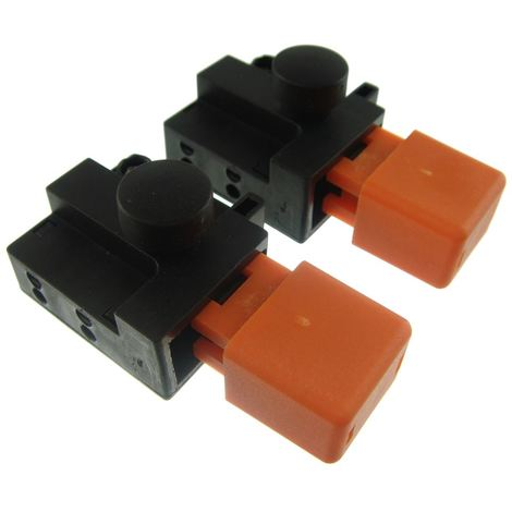 Ufixt® 2 x Flymo Hover Compact 330 (9633305-01) Lawnmower Switch 8A 250V ON/OFF
