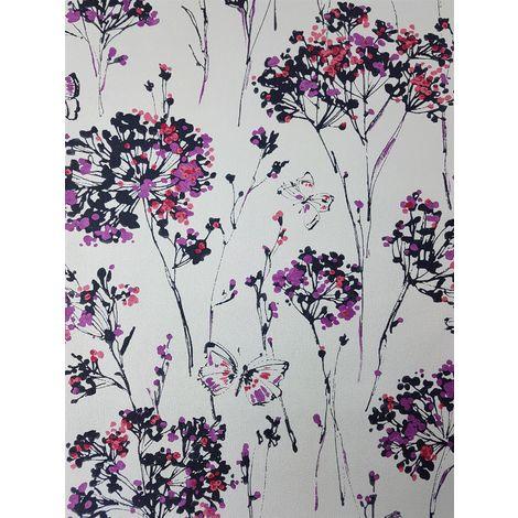 Ugepa Floral Butterfly Wallpaper