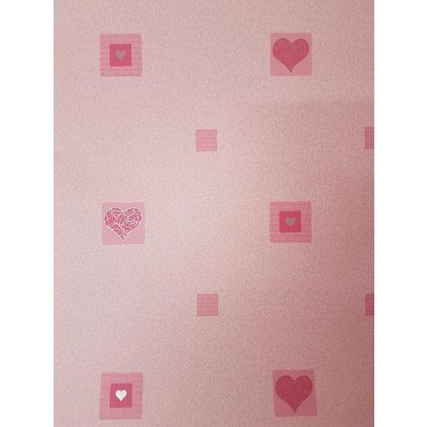 Ugepa Love Hearts Pink Wallpaper