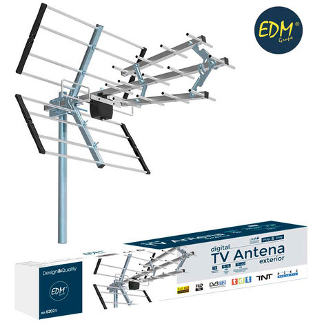 Uhf antena TV EDM 470-790 mhz