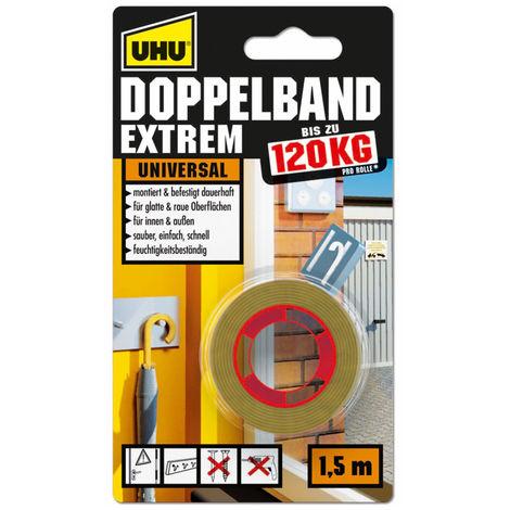 UHU Doppelband Extrem, 19 mm x 1,5 m