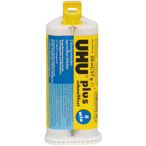UHU PLUS SCHNELLFEST, 50 ml, Doppelkammerkartusche
