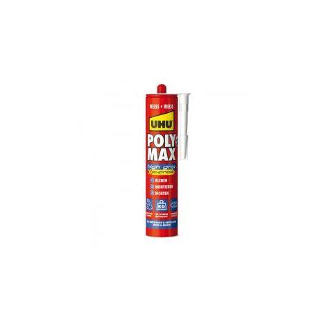 UHU Poly Max - Kartusche 425 g - Farbe weiß