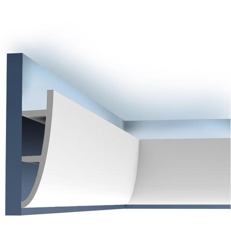 Ulf Moritz LUXXUS cornice moulding Indirect lighting system Orac Decor C374F Antonio L ceiling coving decoration 2 m