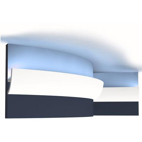 Ulf Moritz LUXXUS flexible cornice moulding Indirect lighting system Orac Decor C373F ANTONIO S ceiling 2 m