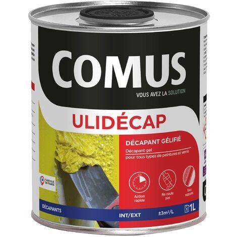 ULIDÉCAP SC - 1L Décapant en gel pour tous types de peintures et vernis - COMUS