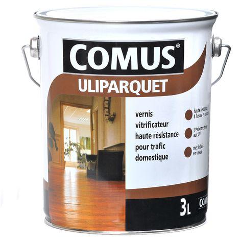 ULIPARQUET ULTRA MAT incolore 0,75L - Vernis vitrificateur haute résistance pour trafic domestique - COMUS