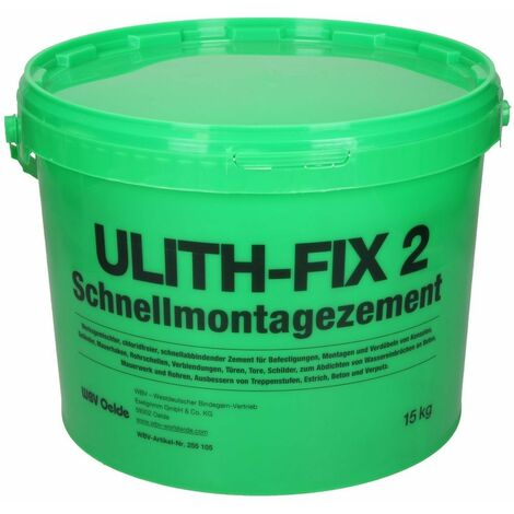 Ulith-Fix 2 ciment à prise rapide