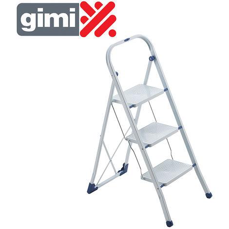 *ult. unidades* taburete escalera tiko 3 peldaños max 150kg gimi 154108