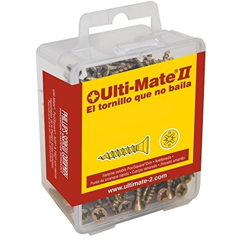 Ulti-Mat II S25012L Lot de vis /à bois S45030L1