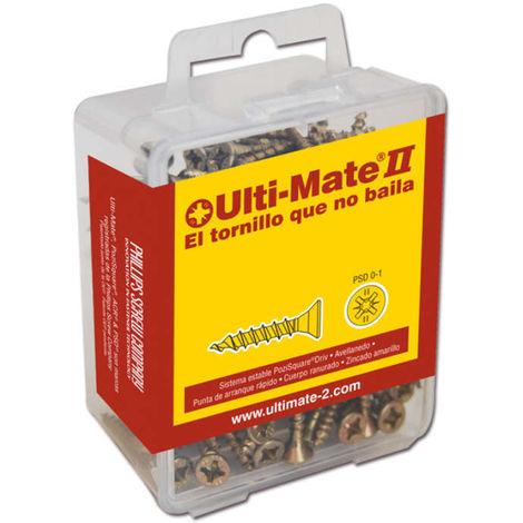 Ulti-Mate II - Tornillo de alto rendimiento Ulti-Mate II BICROMATADO CAJA L - P5-01-010-V02
