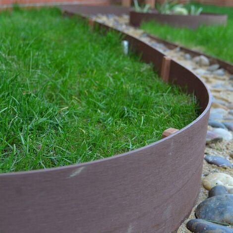 Ultim8 Edge Flexible Garden Edging 150mm x 6m