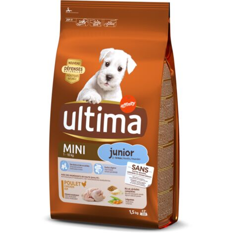 Ultima Chien Mini junior Poulet, 1,5kg