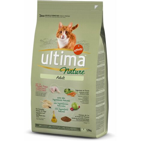 Ultima Nature Chat adulte Poulet, 1,25 kg