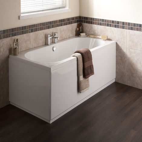 Ultra Coast Eternalite 1700mm X 750mm Double Ended 5mm Bath