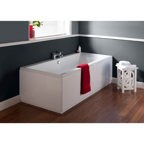 Ultra Jetty Double Ended Bath 1800mm X 800mm 5mm With Eternalite