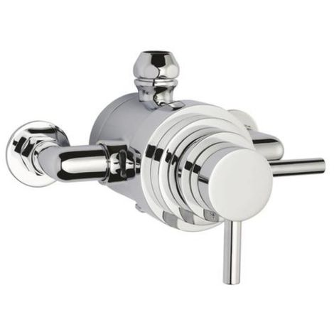 Ultra Spirit Dual Round Exposed Thermostatic Shower Valve