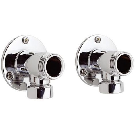 Ultra Wall Mounted Backplate Elbow Unions