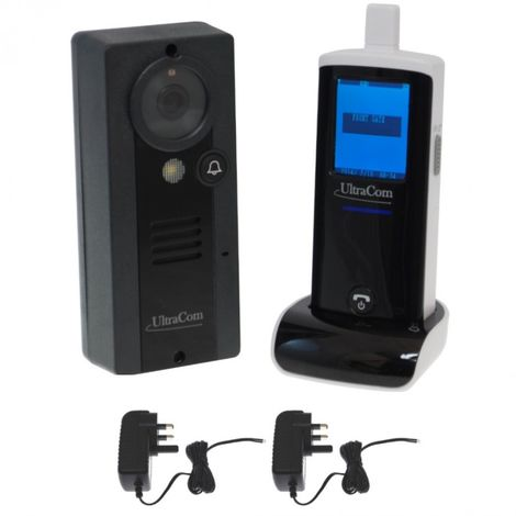 UltraCom 100 metre Wireless Video Intercom (internal aerial) & Transformer [006-1270]