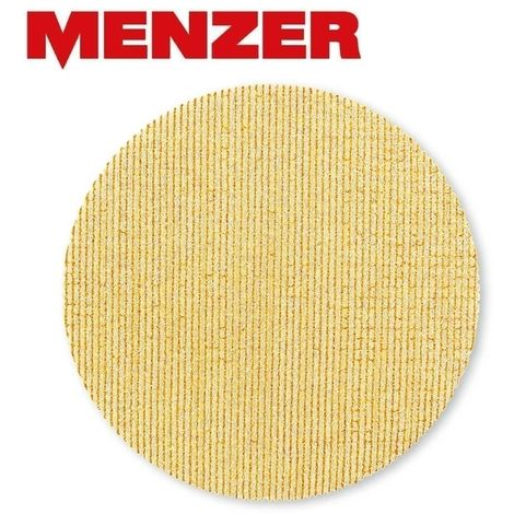 Ultranet® grilles abrasives MENZER, corindon affiné, Ø 125 mm, G40–400