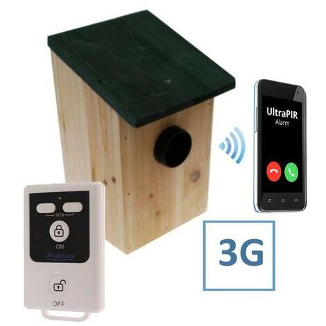 UltraPIR & Bird-box (Battery Powered 3G UltraPIR Bird-box GSM Alarm).