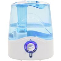 Ultrasonic Humidifier with Cool Mist & Nightlight 6 L 300 ml/h