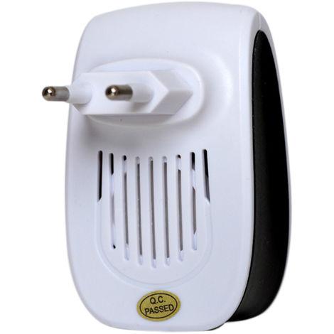 Ultrasonico electronico del parasito, con luz de noche, blanco