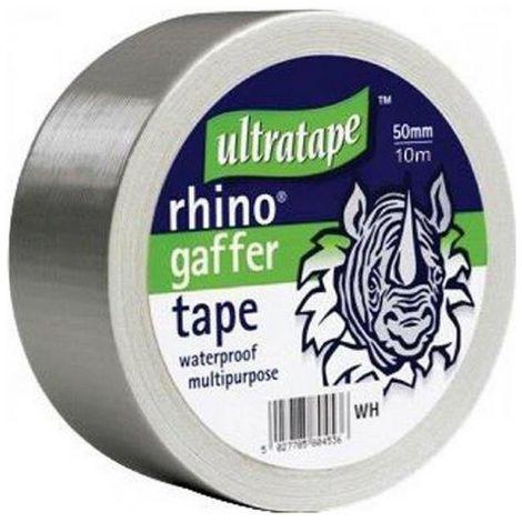 Ultratape Rhino Waterproof Gaffer Cloth Tape (Pack Of 6)