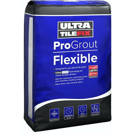 """main image of """"UltraTileFix FlexJoint Premium wall and floor grout silver grey 3kg"""""""