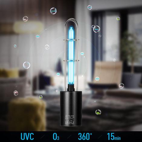Ultraviolet disinfection lamp mini germicidal lamp black