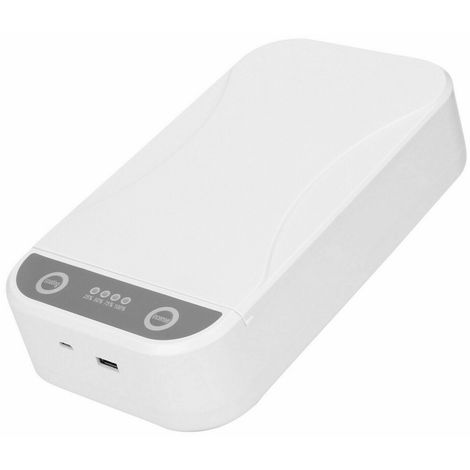 Ultraviolet Lamp Box for Face Cover Smartphone Small Items Portable Office Travel USB Machine