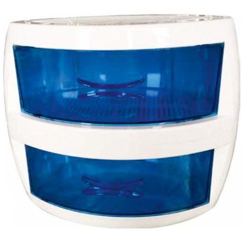 Ultraviolet light sterilizer with double bathtub