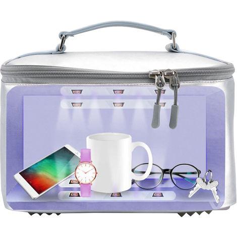 Ultraviolet Ozone Sanitizer Bag UV Device Portable Car Storage Bag Container Mobile Phone Underwear Sterilization