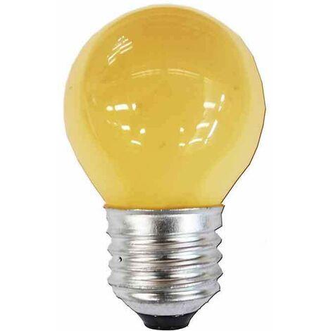 *ult.unidades* bombilla esferica e27 25w 220/240v amarilla