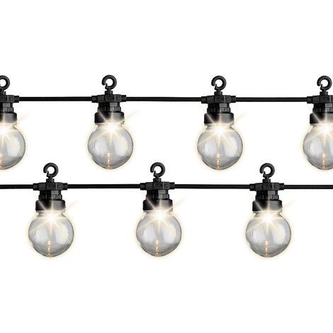 *ult.unidades* guirnalda exterior 20 bombillas ip44 9.5m 20 leds