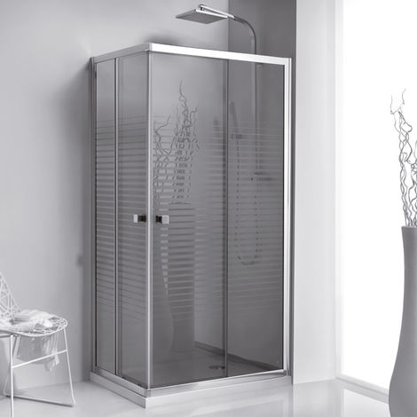 Umbra mampara de ducha entrada esquina 70x70cm