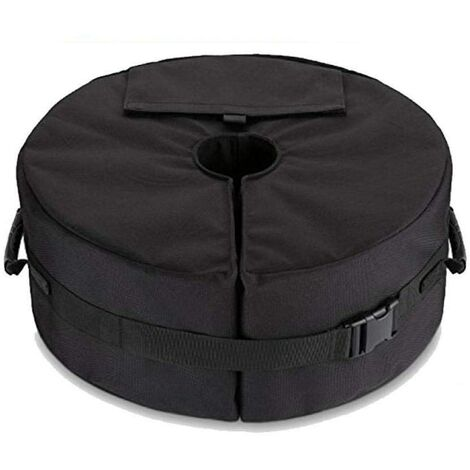 """main image of """"Umbrella base, cantilever weight or outdoor patio umbrella support replaces laid-black sandbags"""""""