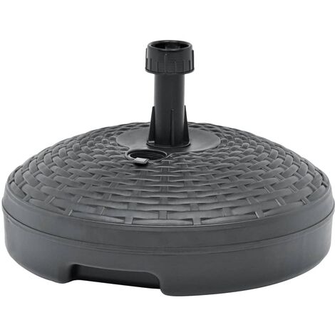 Umbrella Base Sand/Water Filled 20 L Anthracite Plastic