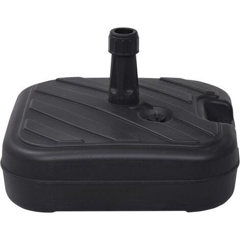 Umbrella Base Sand/Water Filled 24 L Black