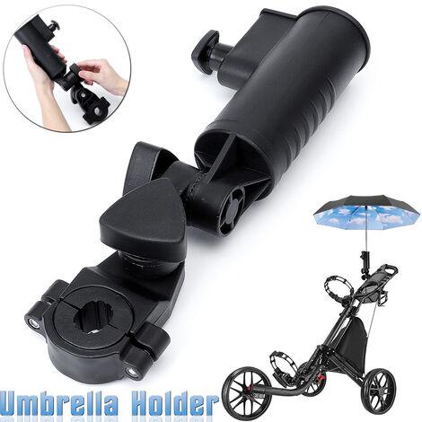 "main image of ""Umbrella Holder Universal Adjustable Pram Umbrella Holder for Buggy Baby Pram Trolley Golf Fishing"""