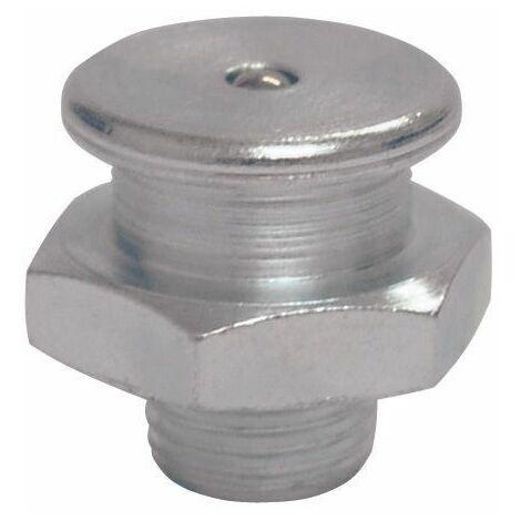UMETA - Engrasador cabeza plana recto. DIN 3404
