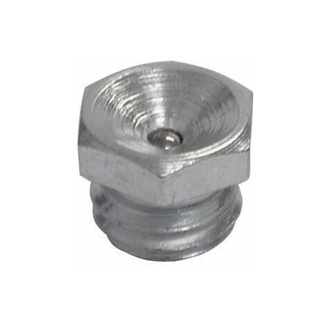 UMETA - Engrasador cóncavo tipo LUB recto. DIN 3405 tipo A