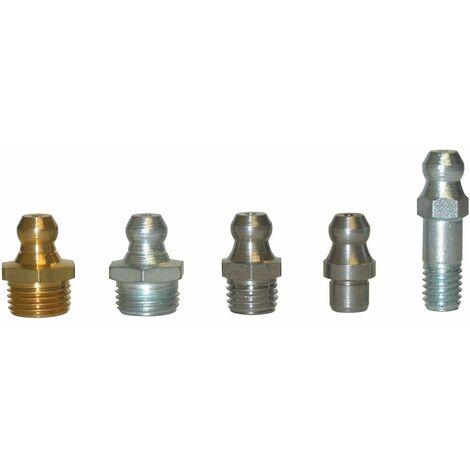 UMETA - Engrasador hidráulico recto DIN 71412 tipo A