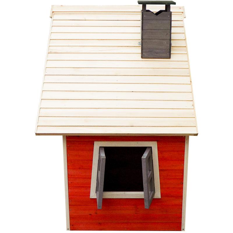 Beliebt Umweltfreundliches Spielhaus für Kinder aus Fichtenholz XJ05