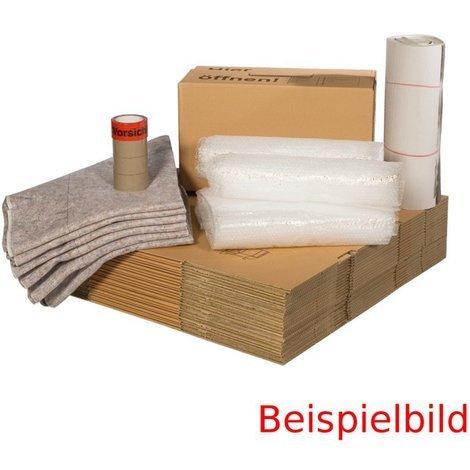 Umzugskomplettpaket (4 bis 5-Zimmer-Wohnung + Häuser)
